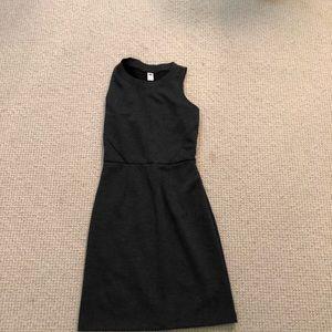 Gray business dress